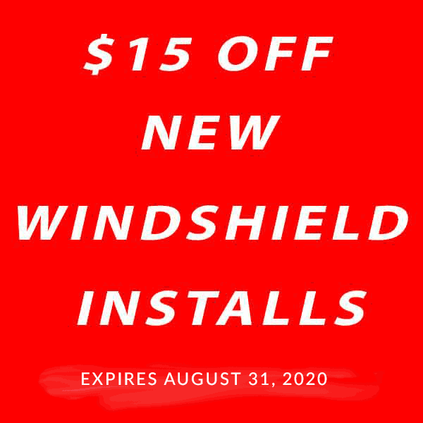 $15 Off Windshield